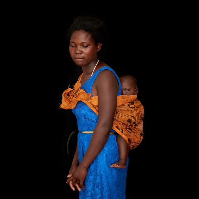 Portrait of child bride and mother Tisate Banda, 15, with her 5-month- old daughter. Tisate dreams of becoming a teacher. But she was married at 14 and became a mother not long after. Now estranged from her much-older husband, she has an infant to tend to. Her education is on hold. In Tisate's hometown of Katete, a small town in the Eastern Province of Zambia, girls like her are the rule rather than the exception, according to Ruth Zalimba Mukande, who works for SWAAZ, the Society for Women and AIDS in Zambia. In an effort to educate communities about the widespread dangers associated with child marriage and encourage them to halt the practice, the African Union launched its Campaign to End Child Marriage in Africa in 2014. Since then, the effort has attracted a burgeoning roster of child advocates, from government officials and religious authorities to traditional leaders and former child brides—all bent on serving as champions of change in Africa.