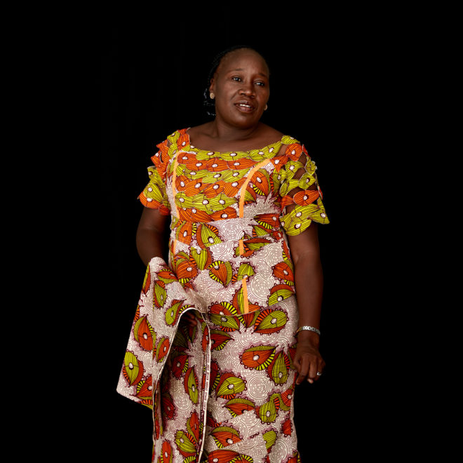 "Portrait of Judith Ann Mwila, of Zambia and World Family Organization Vice-President for Communication and Public Relation Affairs. ""We want families to know that there's a place where they can go to get guidance on whether to avoid child marriage. It's true that some parents have been forced to marry off their children as a result of poverty. And now, we are actually working on a project with Heifer where families that are poor like that . . . they will be empowered with some livestock so that they can educate their children instead of marrying them off. ""One, we encourage them to keep the girls in school and, two, to find ways for them to generate income so they don't have to think if they marry off a child, they will have more money. Because it's not marrying off that brings the money. It's for them to generate income."" For a portrait series on champions leading to end child marriage in Africa. All images made at the first-ever African Girls' Summit on Ending Child Marriage, held in Lusaka, Zambia. The meeting aimed to facilitate exchange of good practices and challenges in ending child marriage, and to secure and renew commitments from African stakeholders."