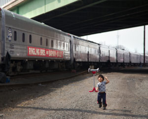 On the Circus Train
